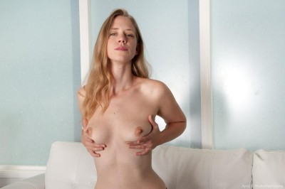 April_BlondeStrippingLivingroom_059